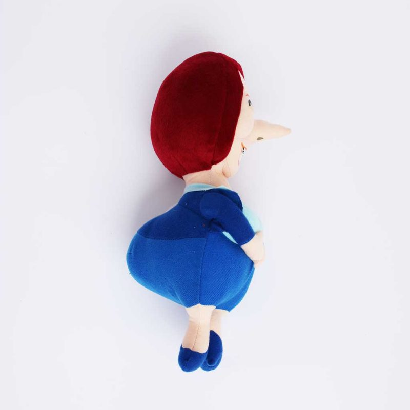 Juila Gillard soft dog toy side view
