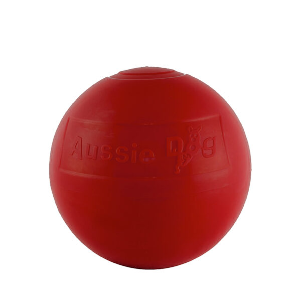Large red Enduro ball for dogs