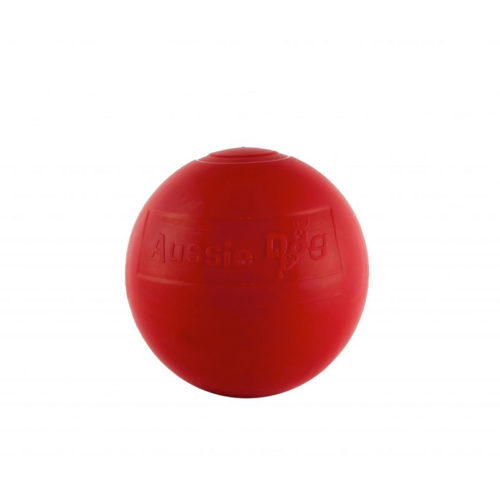 Medium red Enduro ball dog toy