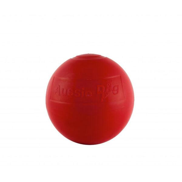 Medium red Enduro ball dog toy