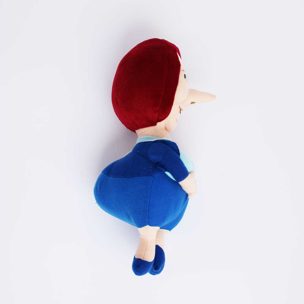 Juila Gillard soft dog toy side view