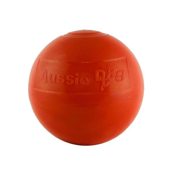 Large tough red staffy ball for staffies