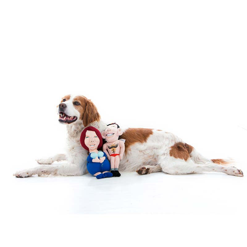Tony Abbott Julia Gillard Dog Chew Toy