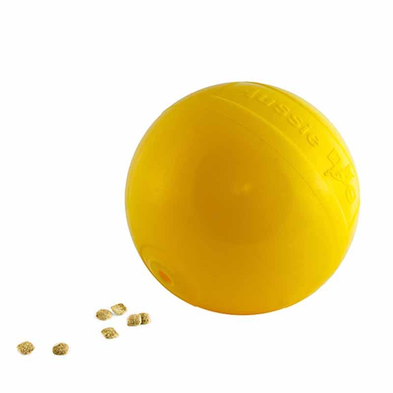 The medium Tucker ball for adding kibble