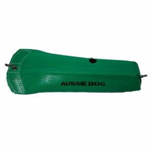 green feeder bag
