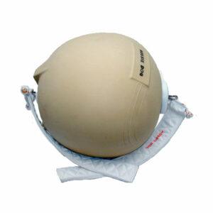 cream colour polar bear ball with thongs attached