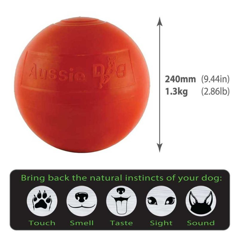 Staffie Ball Size Guide