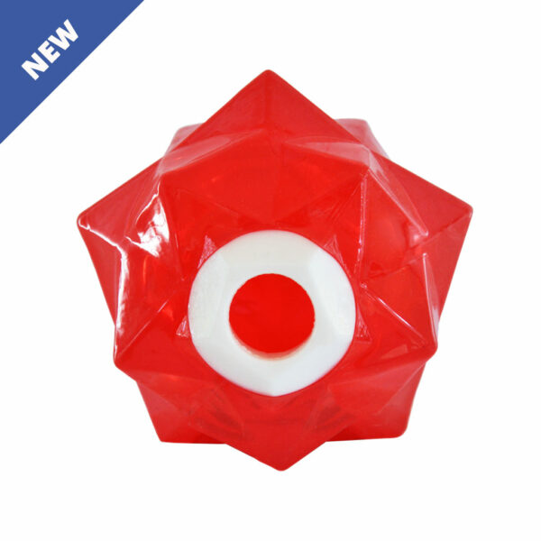 Aussie Dog Products Monster Treat Ball Red Front NEW