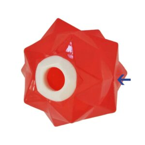 aussie dog products monster ball air hole