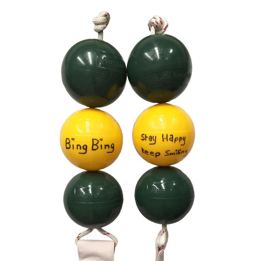 Panda Ball Custom Engraving Bing Bing