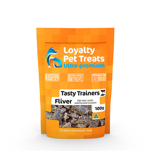 bag of fliver pet treats