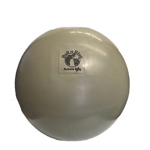 large beige ball