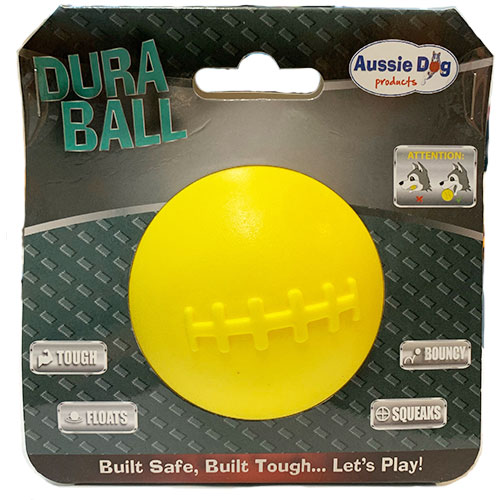 yellow ball in pack